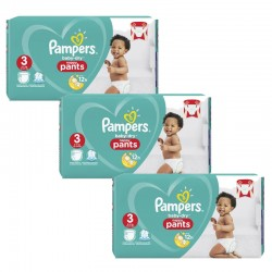 182 Couches Pampers Baby Dry Pants taille 3 sur Les Looloos