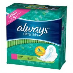 Always - Ultra Thin 80 Serviettes hygiéniques taille Long sur Les Looloos