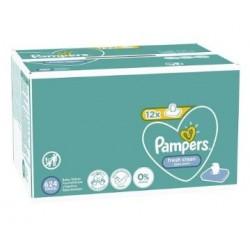 416 Lingettes Bébés Pampers Fresh Clean sur Les Looloos