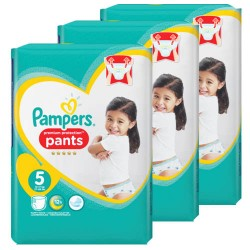160 Couches Pampers Premium Protection Pants taille 5 sur Les Looloos