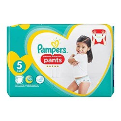 40 Couches Pampers Premium Protection Pants taille 5 sur Les Looloos