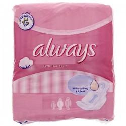 Always - Ultra Thin Coton de 8 Serviettes hygiéniques taille Long sur Les Looloos