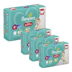 560 Couches Pampers Baby Dry Pants taille 4+ sur Les Looloos