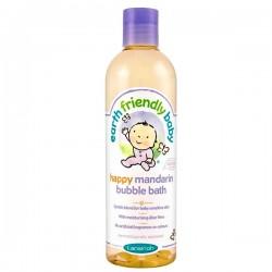 Flacon Bain moussant EFB - Earth Friendly Baby Bio Mandarine sur Les Looloos