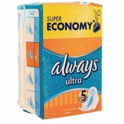 Always - Simply Fits de 144 Serviettes hygiéniques taille normal plus sur Les Looloos