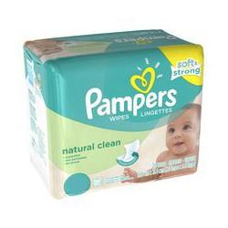 Pampers - Natural Clean 768 Lingettes Bébés sur Les Looloos