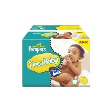 324 couches pampers new baby dry taille 1 petit prix sur les looloos - Prix couche pampers allemagne ...