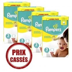 Pampers - Premium Protection 232 Couches 3 sur Les Looloos