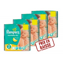 Pampers - New Baby Dry 272 Couches 2