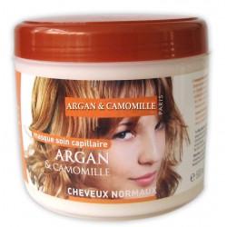 Masque capillaire à l'argan & camomille cheveux normaux sur Les Looloos