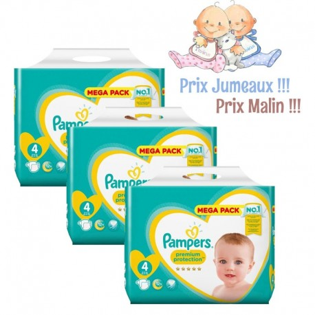 468 Couches Pampers New Baby Taille 4 A Bas Prix Sur Les Looloos