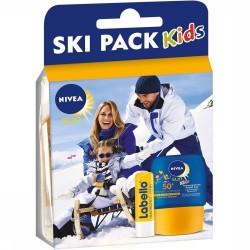 Pack Nivea Kids Ski Protection 50+ et Labello sur Les Looloos
