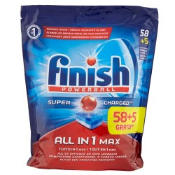 Finish Tabs 63 Powerball Super Charged Special Graisses All in 1 Max (1027 gr) sur Les Looloos