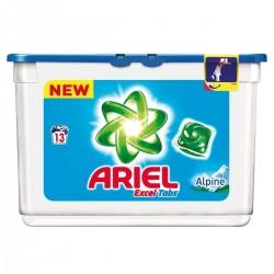 Ariel Liq Tabs 13 Excel Tabs Alpine (361,4 gr) sur Les Looloos