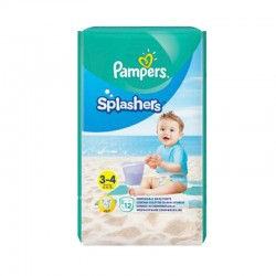 12 Couches de bains Pampers Splashers taille 3 sur Les Looloos