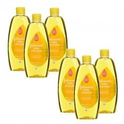 Pack de 6 Shampooings doux bébé Johnson 300 ml sur Les Looloos