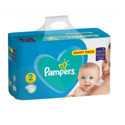94 Couches Pampers Active Baby Dry taille 2