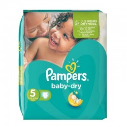 15 Couches Pampers Active Baby Dry taille 3 sur Les Looloos