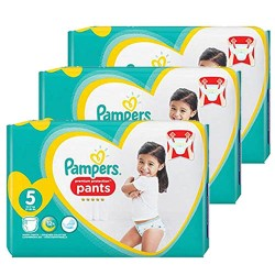 200 Couches Pampers Premium Protection Pants taille 5