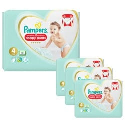 329 Couches Pampers Premium Protection Pants taille 4