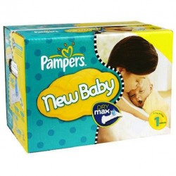 264 Couches Pampers Premium Protection taille 1 sur Les Looloos
