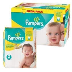 312 Couches Pampers Premium Protection taille 2