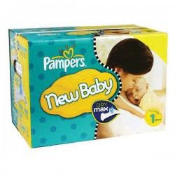 168 Couches Pampers Premium Protection taille 1 sur Les Looloos