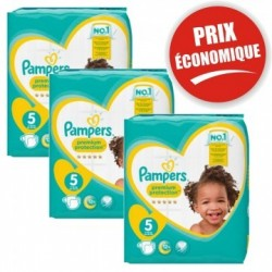 476 Couches Pampers Premium Protection taille 5