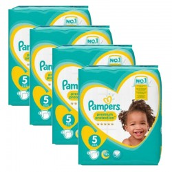 544 Couches Pampers Premium Protection taille 5