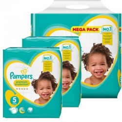 816 Couches Pampers Premium Protection taille 5
