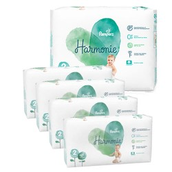 156 Couches Pampers Harmonie taille 2 sur Les Looloos
