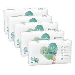 468 Couches Pampers Harmonie taille 2 sur Les Looloos