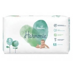 68 Couches Pampers Harmonie taille 1 sur Les Looloos