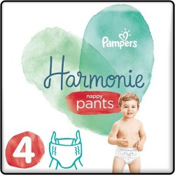 58 Couches Pampers Harmonie Pants taille 4 sur Les Looloos