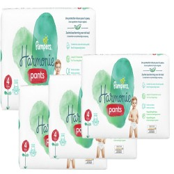 116 Couches Pampers Harmonie Pants taille 4 sur Les Looloos