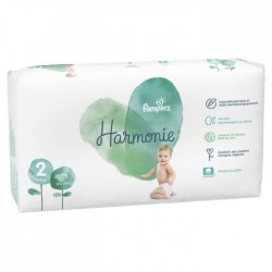 78 Couches Pampers Harmonie taille 2 sur Les Looloos
