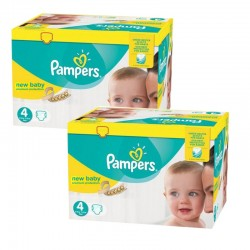 384 Couches Pampers Premium Protection taille 4 sur Les Looloos