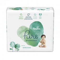 22 Couches Pampers Pure Protection taille 3 sur Les Looloos