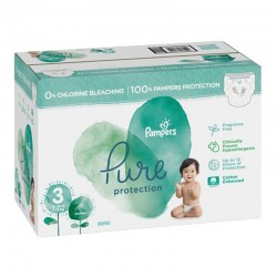 88 Couches Pampers Pure Protection taille 3 sur Les Looloos