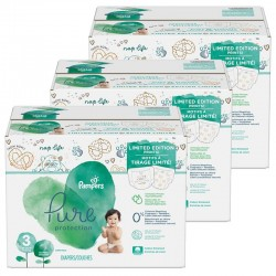 330 Couches Pampers Pure Protection taille 3 sur Les Looloos
