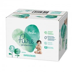 352 Couches Pampers Pure Protection taille 3 sur Les Looloos