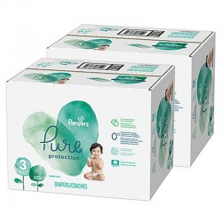 440 Couches Pampers Pure Protection taille 3 sur Les Looloos